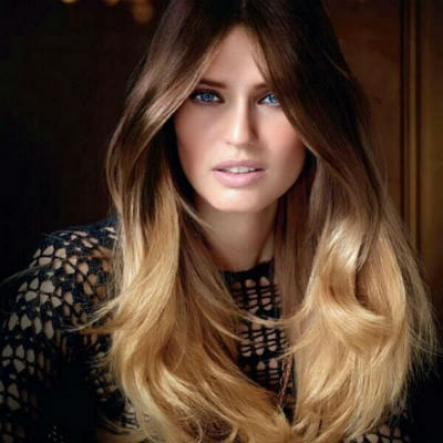 lucir mechas californianas