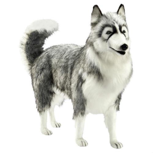 peluche gigante perro husky