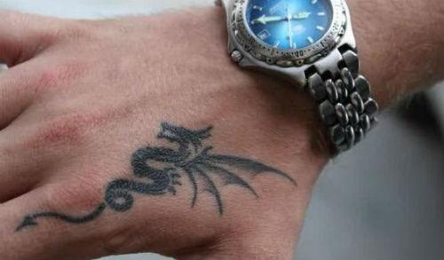 dragon en la piel