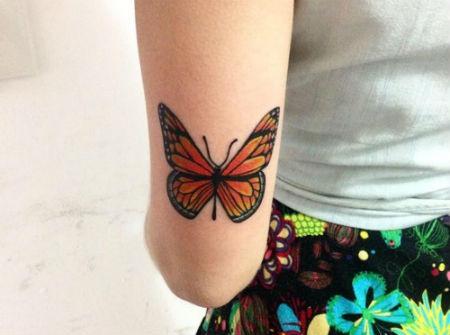 tatuarse mariposa