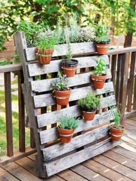 Jardines con madera crea tu propio jardin rustico for Jardines verticales con madera