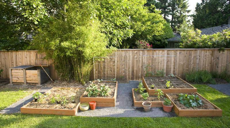 jardines con madera crea tu propio jardin rustico