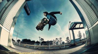 tabla para hacer skateboarding