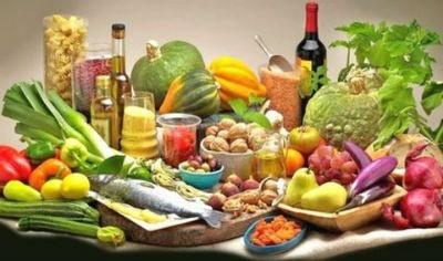 Alimentos principales de la Dieta Mediterranea