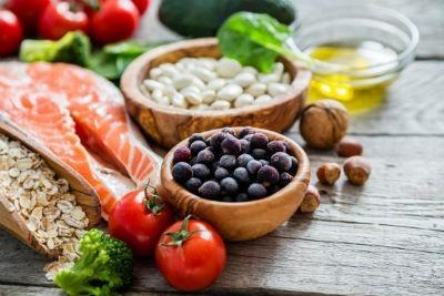 Alimentos secundarios de la Dieta Mediterranea