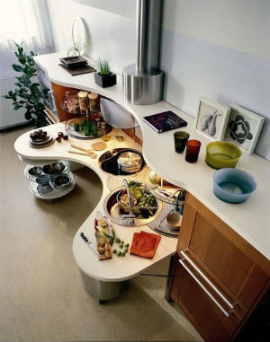 Cocina para personas discapacitadas