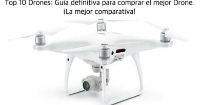 Top 10 Drones, la lista definitiva para comprar el mejor Drone con cámara HD