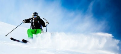 Esqui deporte de nieve