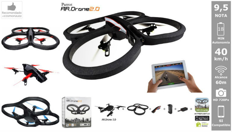 Drones: PARROT AR DRONE 2.0 POWER EDITION