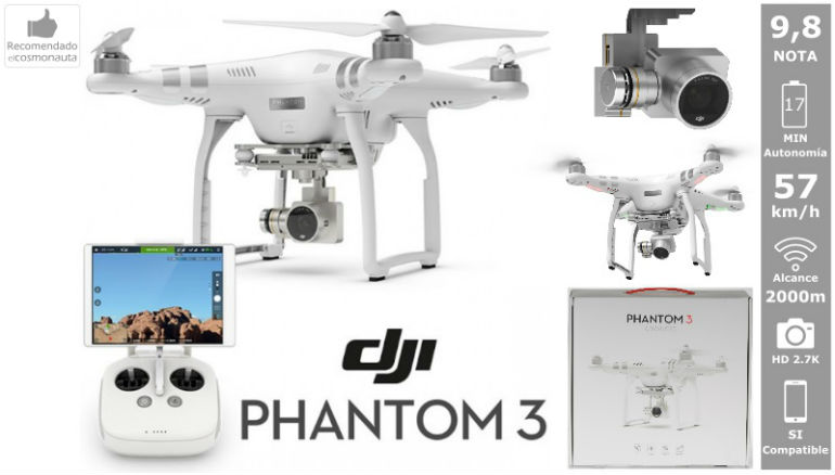 Drones: DJI PHANTOM 3 ADVANCED
