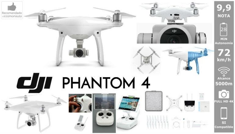 Drones: DJI PHANTOM 4
