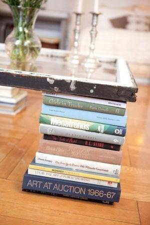 Mesas con libros
