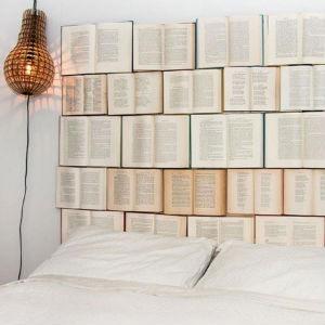 Cabeceros de cama con libros