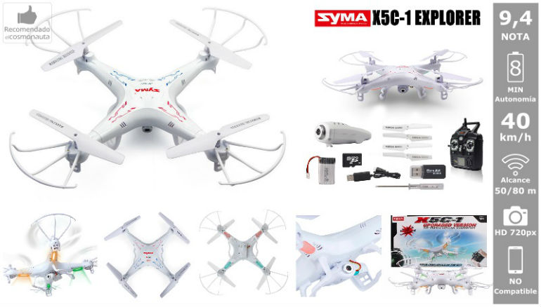 Drones: SYMA X5C-1 EXPLORERS