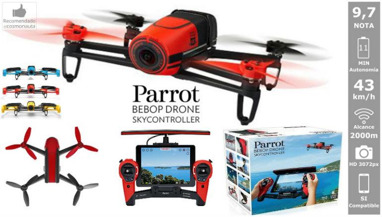 Drones: PARROT BEBOP CON SKYCONTROLLER