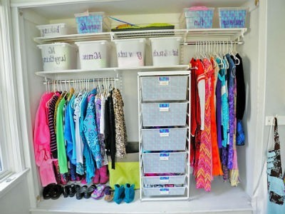 Como organizar tu armario
