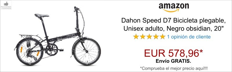 Dahon Speed D7 Bicicleta plegable