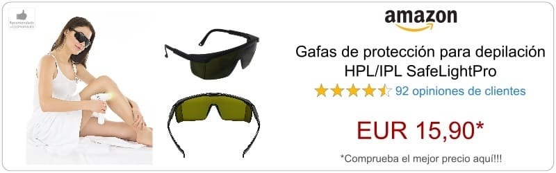 Gafas depilacion