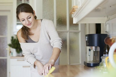 La limpieza en el hogar