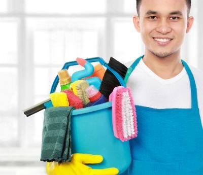 La limpieza en el trabajo