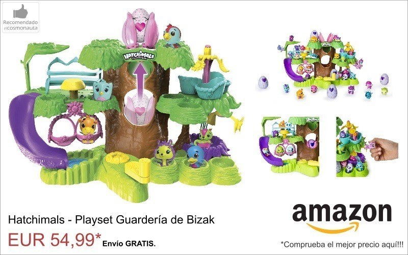 hatchimals Playset Guarderia