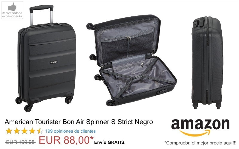 American Tourister Bon Air Spinner S Strict Negro