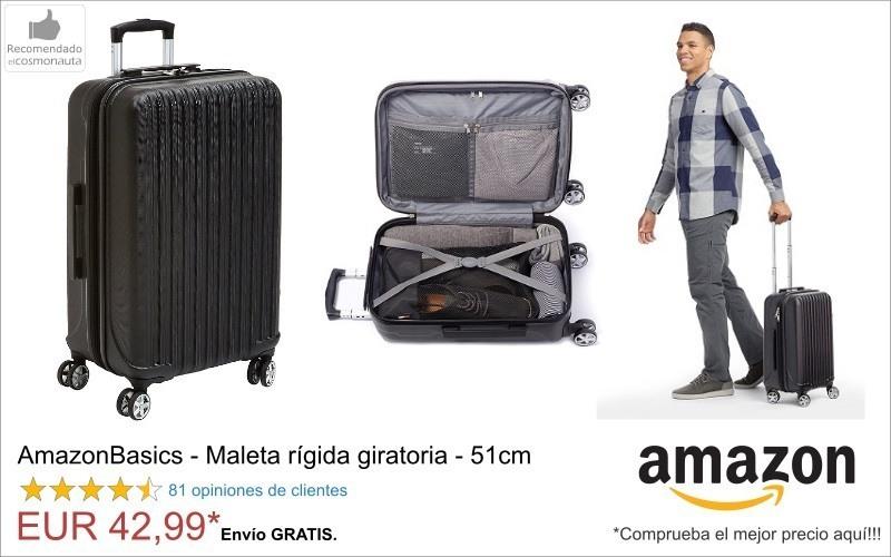 AmazonBasics Maleta rigida
