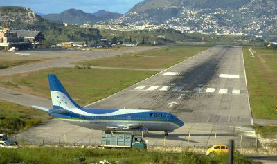 Aeropuerto Toncontin Honduras
