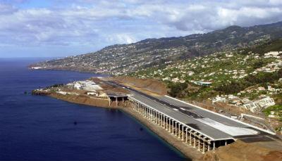 Aeropuerto de Madeira Portugal