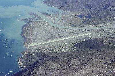 Aeropuerto de Narsarsuaq en Groenlandia