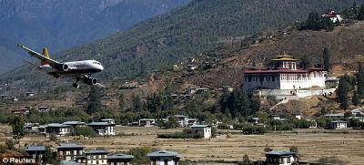 Aeropuerto de Paro Butan