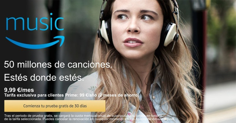 Altrenativas Spotify Amazon Music Unlimited