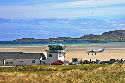 Barra Airport Escocia