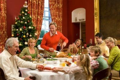 Comer en Navidades
