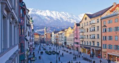 Innsbruck, ciudad encantada rodeada por los Alpes