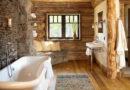 Cómo decorar un baño rústico