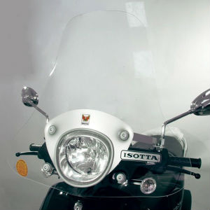 Cupula y parabrisas para moto