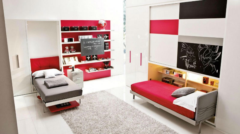 Diviertete decorando una habitacion juvenil