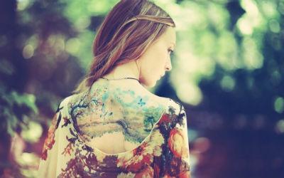 Ideas para tatuajes en la espalda