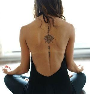 Tipos de tatuajes en la espalda