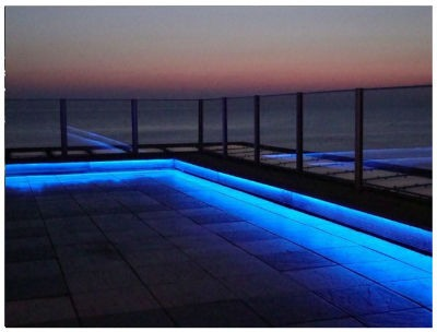 Tiras decorativas LED para exteriores