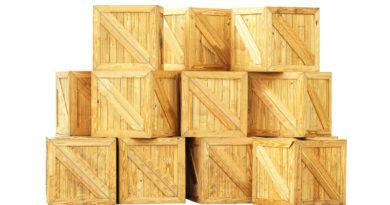 Cajas de madera para transporte
