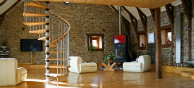 Escaleras de madera decorar tu hogar