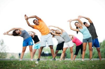 Grupo de deporte