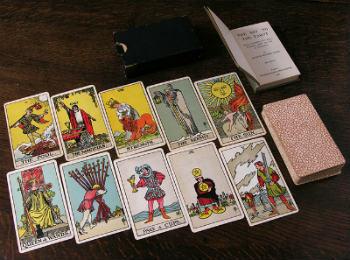 baraja de cartas del tarot