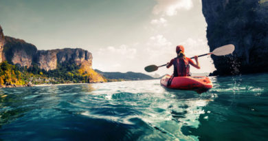 Cómo disfrutar de los diferentes kayaks
