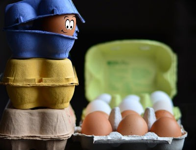 Hacer limpieza con huevo