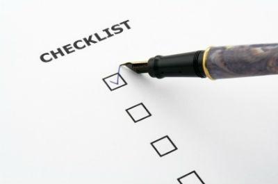Lista de objetivos a cumplir