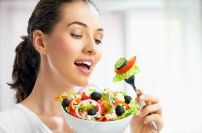 Tener una dieta equilibrada