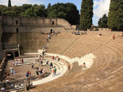El Gran Teatro de Pompeya